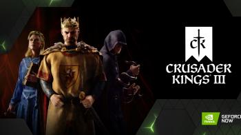 В GeForce NOW появились профили Crusader Kings 3 и Iron Harvest