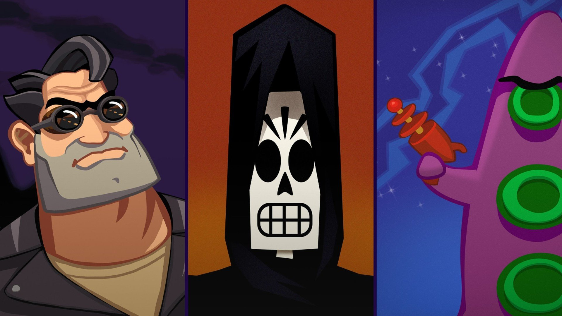 Ремастеры Full Throttle, Grim Fandango и Day of the Tentacle выйдут на Xbox One и попадут в Game Pass уже 29 октября